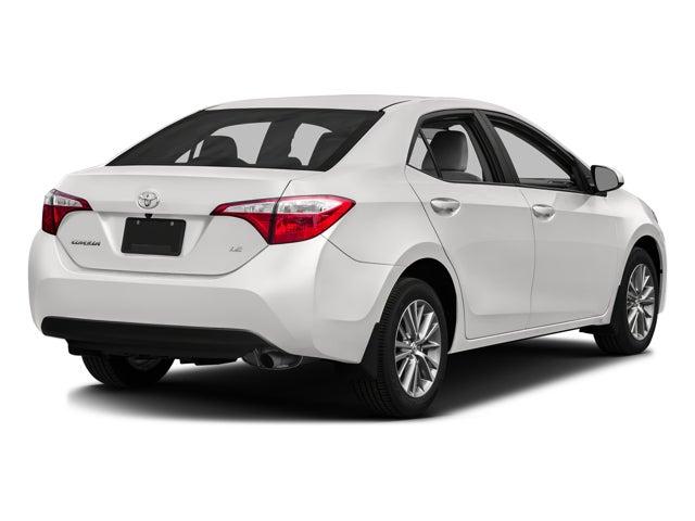 2016 Toyota Corolla Le In Clarksville Neil Huffman Honda